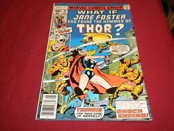 Ta1 What If 10 Marvel 1977 Bronze Age 6.5/fn+ Comic Jane Foster Gets Hammer