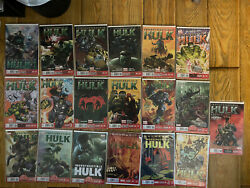 Indestructible Hulk Lot - Issues 1-17, Annual + Special - Marvel Now