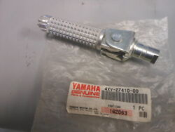 Nos Yamaha Front Left Footrest Assy 1998-1999 Yzfr1 Yzf-r1 4xv-27410-00
