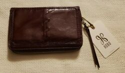 "HOBO BAGS ""APOLLO"" PHONE WALLET DEEP PLUM NwoT $35.00"