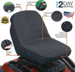 Storm Shield Fabric Seat Cover For Lawn Mower Tractor Accessories John Deere Mtd