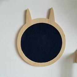 Wall Mounted Cute Shape Scratching Post Place Floor Or Wall Mounted Wall Cat