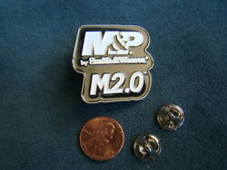 Smith And Wesson Sandw Mandp M2.0 Hat Lapel Pin
