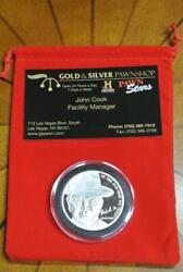 Pawn Stars Gold And Silver Pawnshop 1 Troy Oz .999 Silver Coin Richard Sr. Old Man