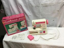 Professional Kx93 Lock Stich Childs Play Sewing Machine Battery Operated