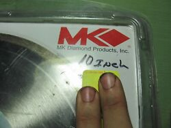 Mk-200 10x060x5/8 Diamond Blade Continuously Wet Tile Saw Blade