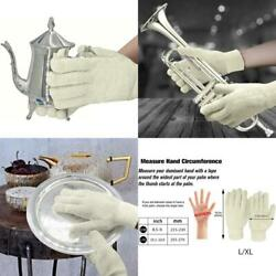 Evridwear Sterling Silver Polishing Cleaning Gloves With Terry Loop Cloth Anti-