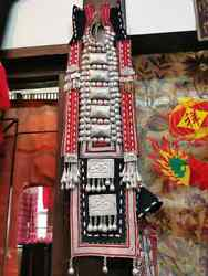 Antique Strap Siver, Tribal Dress For Woman