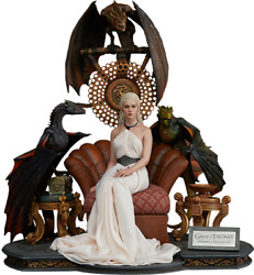 Game Of Thrones Daenerys Targaryen Mother Of Dragons Statue Blitzway Prime 1
