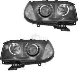 Xenon Headlight Set For Bmw X3 Year 04-06 With Indicator White D2s +h7 1070076