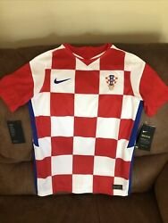 Nike Product Exclusive Croatia National Team Soccer Jersey Nwt Size L Youth