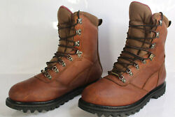 Cabelas Men 12 Ee Iron Ridge 800 Oiled Leather Goretex Insulated Hunting Boots