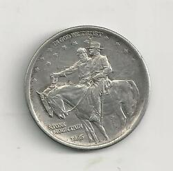1925 Stone Mountain Commerative Half Very Fine Condtion