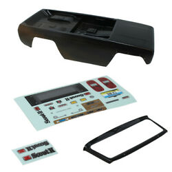 Redcat Racing Gen8 Scout Ii Axe Edition Black Body Anddecal Sheet Gen 8 V2 No Cage