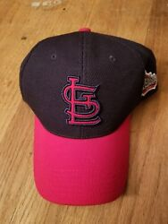 St. Louis Cardinals 2013 World Series Baseball Hat Red And Blue League Champions