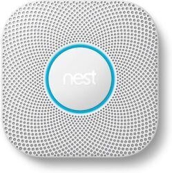 Google Nest Protect Smoke And Carbon Monoxide Alarm 2nd Gen S3000bwes