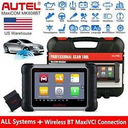 2021 Autel Maxicom Mk808bt Car Diagnostic Scan Tool All Systems And 25+ Services
