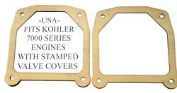 Usa 2 Valve Cover Gaskets Fit Kohler 7000 Series With Stamped Steel Covers