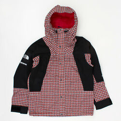 Supreme Ss21 The Studded Mountain Light Jacket Box Camp Logo Red