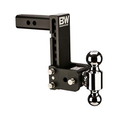 Bandw Trailer Hitches Tow And Stow Double Ball Hitch 2 5/16 X 2 Balls With 2.5 7