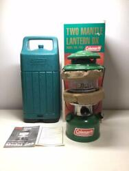 Coleman 200b Dx Reprinted Lantern Frog Color Ver W / Box And Case [unused]