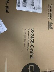 Viewsonic 24 Inch Monitor 144 Hrtz Curved 4mm Second Response Time