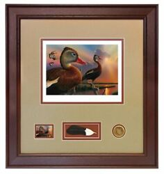 2020/2021 Federal Duck Stamp Print Ducks Unlimited Black-bellied Whistling Duck