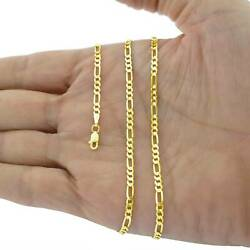 14k Yellow Gold Link Necklace Chain For Charm Women Men Jewelry 16 18 24 2mm