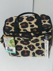 Lunch on the Go Lunch Bag for Women Insulated Lunch Tote for Ladies Girls $19.99