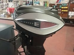 Classic 75 Hp Evinrude Outboard Motor From 1962 Very Nice