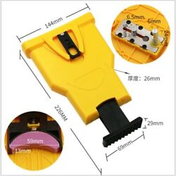 Chainsaw Teeth Sharpener Saw Sharpening System Grinding Chain Hand Cordless Tool