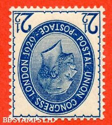 Sg. 437wi. Ncom8 1 A. 2andfrac12d Blue. Inverted Watermark. A Mounted Mint Exa B52182