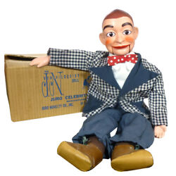 1950s Knucklehead Ventriloquist Doll By Juro Jerry Mahoneyand039s Pal Rare