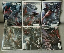 Amazing Spider-man 9,10,11,12,13 And 14 - Spider-verse - Dell Otto 125 Variants
