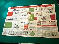 1948 Lionel Train Set 38 By 25 Make These Realistic Models 8 Buildings