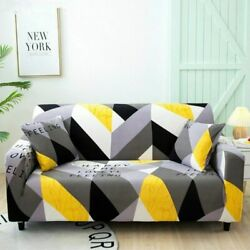 Elastic Sofa Cover For Living Room Couch Cover Sectional Armchair Slipcover New