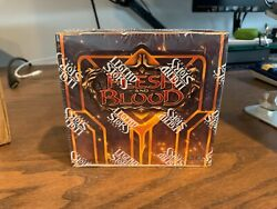 Flesh And Blood Crucible Of War First Edition Booster Display Sealed 1 Box