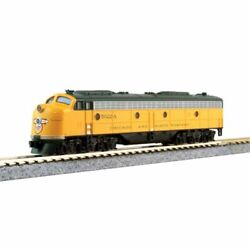 Kato 106104 - Emd E8a And 5-car Train-only Set Chicago And Northwestern Cnw ...