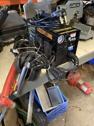Chicago Electric Plasma Cutter Item 64808 W/ Cutter, Cords, Leads, Welding