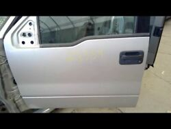 Driver Front Door New Style Curved Belt Line Fits 04 Ford F150 Pickup 697042