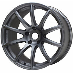 4 Staggered 19x9.5 / 19x10.5 Gram Lights 57transcend Gray Machined 5x120 +22/...