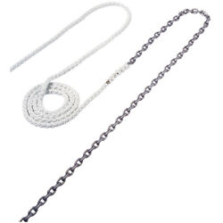 Maxwell Anchor Rode - 20and039-3/8 Chain To 200and039-5/8 Nylon Brait Rode59
