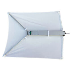 Taco Shadefin W/white Fabric Andamp Bag T10-3000-1
