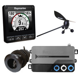 Raymarine I70s System Pack W/color Instrument Andamp Wind, Dst Transducers, Itc-5