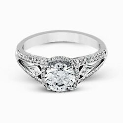 2.00 Ct Diamond Engagement Wedding Ring 925 Sterling Silver Rings Size 5.5 6 7 9