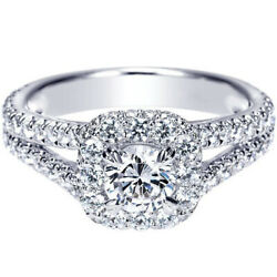 1.62 Ct Diamond Engagement Wedding Ring 925 Sterling Silver Rings Size 5 6 7 8 9