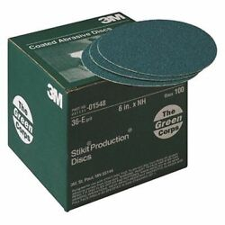3m Green Corps Stikit Resin Bond Disc E Weigh Pack Of 100 40e Grade Boat Md