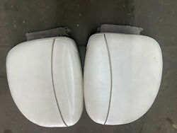 2001 Monterey 180 E Edge Boat Rear Side By Side Engine Cover Cushions