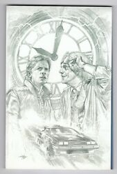 Back To The Future Who Is Marty Mcfly Variant Sketch Delland039otto Limited 500 Bu76