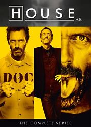 House The Complete Seasons 1-8 Dvd Hugh Laurie New